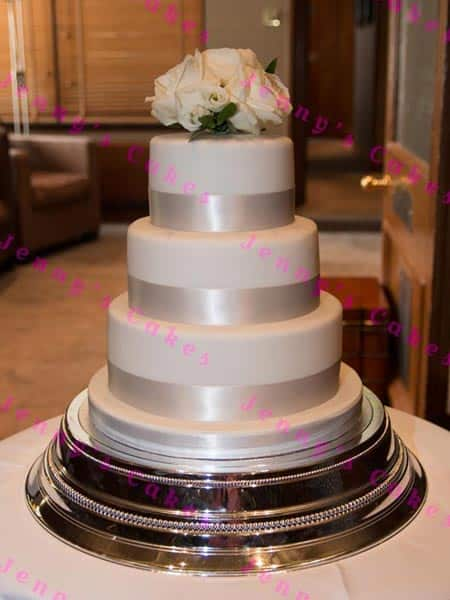 Three Tier Wedding Cake Ready To Buy