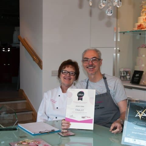 Jenny and Tom, Multi -Award Winning Bakers