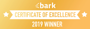 Bark- Certificate of Excellence 2019