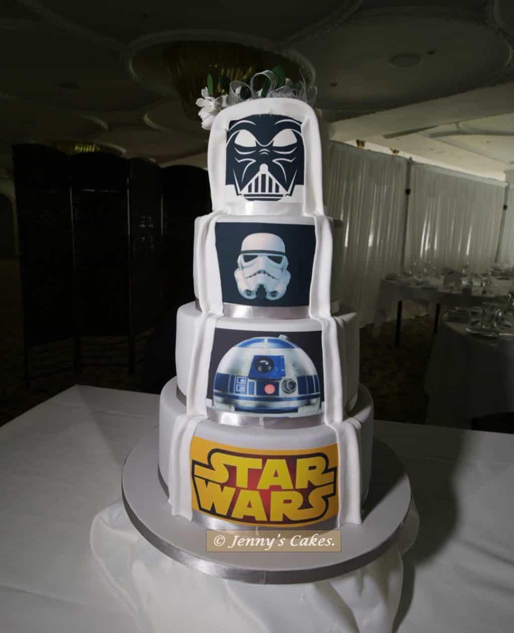 quite sinister Star Wars Cake