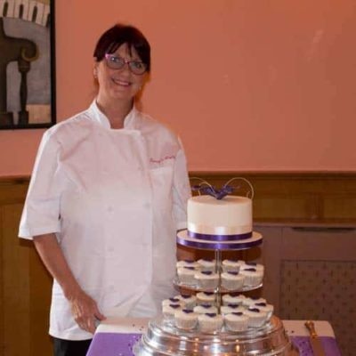 Gretna Green Wedding Cake at Mill Forge